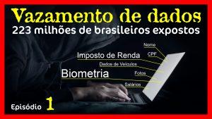 vazamento de dados de mais de 223 milhões de brasileiros