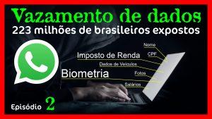 Privacidade do WhatsApp e Vazamento de Dados de mais de 223 milhões de brasileiros
