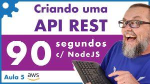 Criando uma API em 90 segundos com NodeJS usando LoopbackJS ExpressJS - AWS 05 - 040