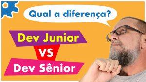Principais diferenças entre um Desenvolvedor Júnior e um Desenvolvedor Sênior? Dicas VALIOSAS