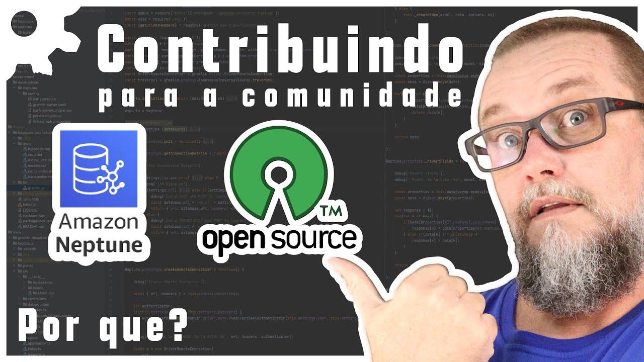 Contribuindo com Comunidade Opensource com AWS Neptune Connector para Loopback